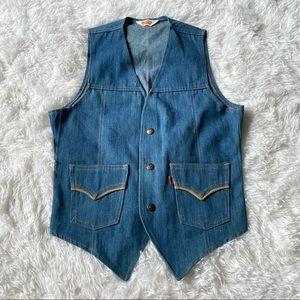 Vintage Levi's Jean Vest